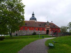 Zugang vom schönen Schlosspark