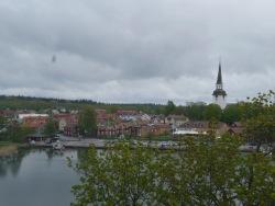 Ansicht auf Mariefred aus dem Schloss