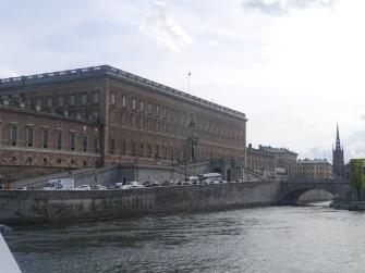 Hier haben ihre Majestäten ihre Büros - Stadtschloss Stockholm