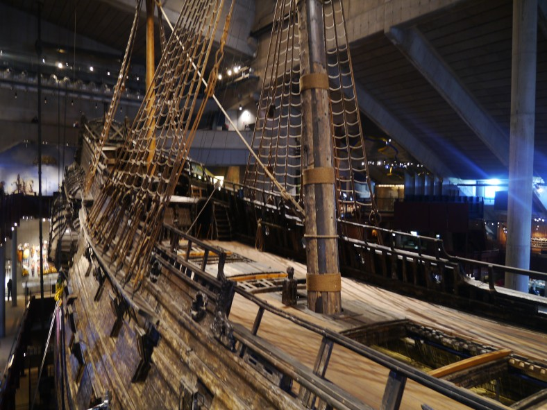 Das Kriegsschiff Vasa sank 1628 und wurde 333 Jahre später fast unversehrt gehoben...