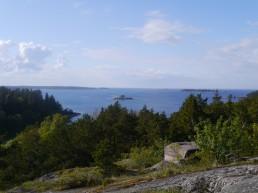 Blick vom Turm auf Arholma