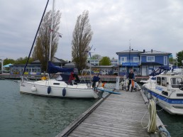 Hafen in Mariehamn