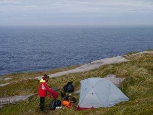 Zelten am Nordkap...macht kaum einer...