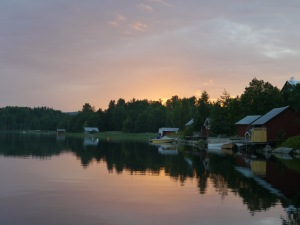 Tolle Abendstimmung in Lövvik