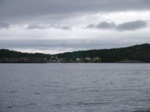 Dieser Hafen zählt mit zu den schönsten an der Högaküste und ist meistens voll belegt...