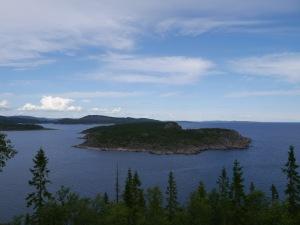 Aussicht von der Insel Högbonden