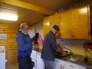 ...und die Männer erledigen den Abwasch :)