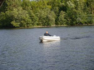Nicht nur Mo hatte Spaß mit dem kleinen Boot :)
