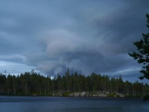 Sehenswerte Wolke...finde ich