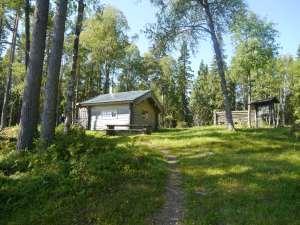 Diese Hütte wird in der Beschreibung als `lovely cottage`bezeichnet und das ist sie auch :)