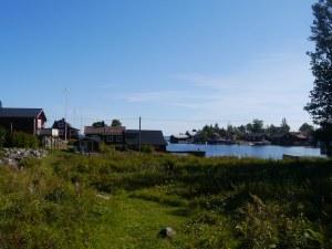 Fischerdorf auf der Insel Tunaolmen