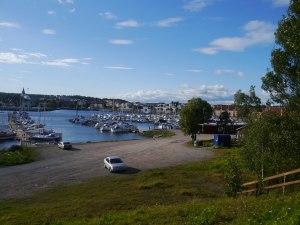 Der Hafen von Hudiksvall